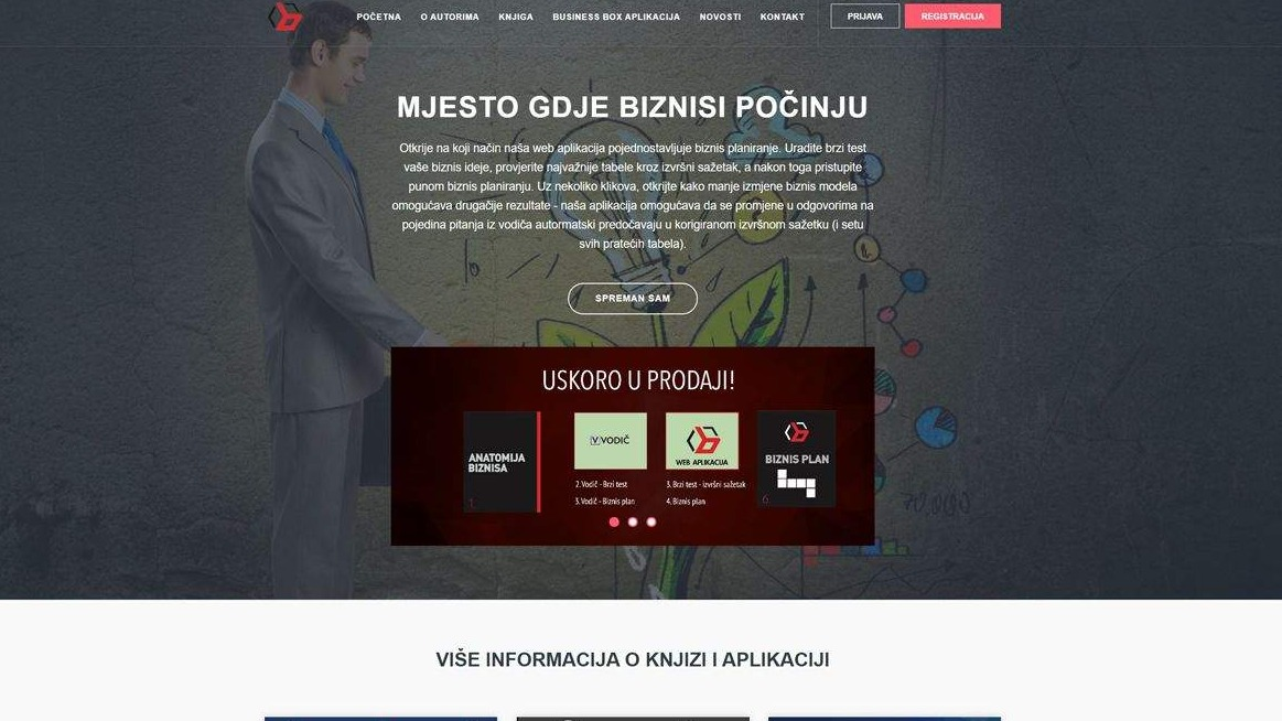 Biznisplan.ba - app and website