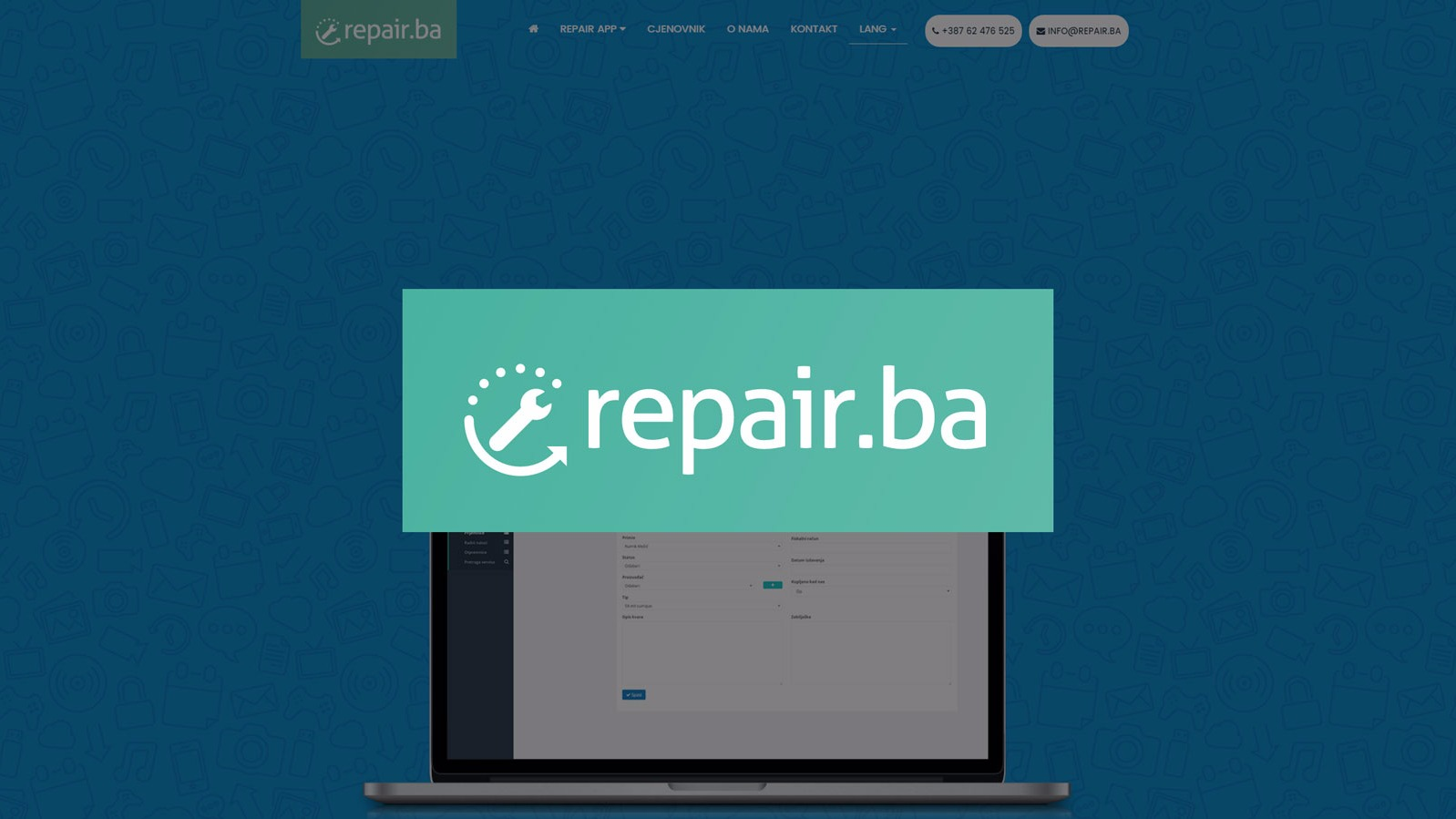 Repair.ba startup - Application for servicing workers