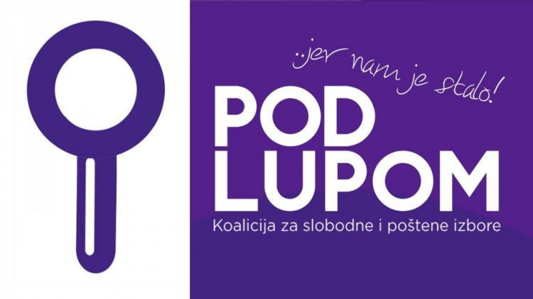 Podlupom website